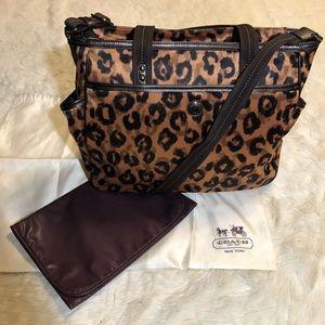 Coach Ocelot Multi Functional/Baby Bag